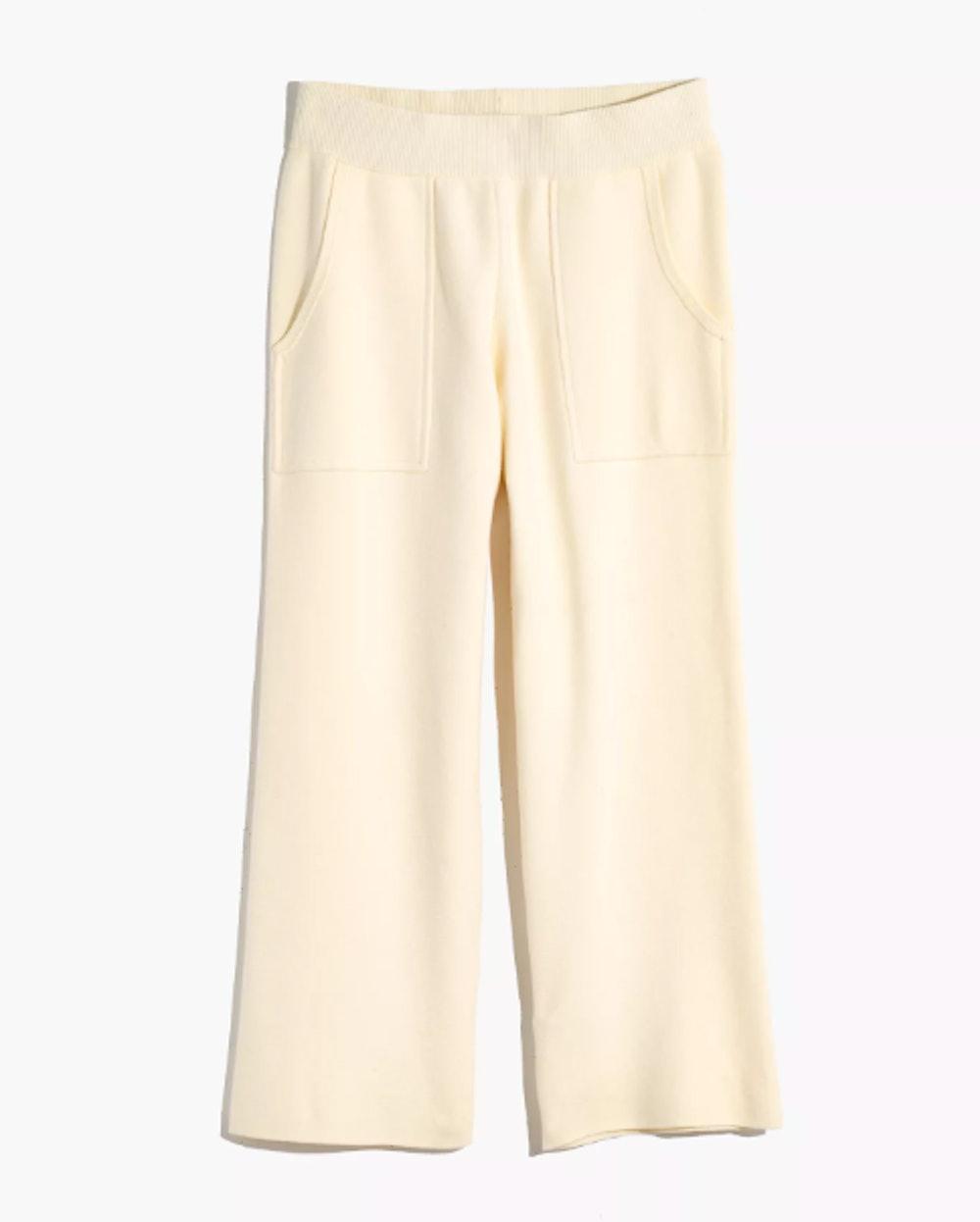 Ellington Straight-Leg Sweater Pants