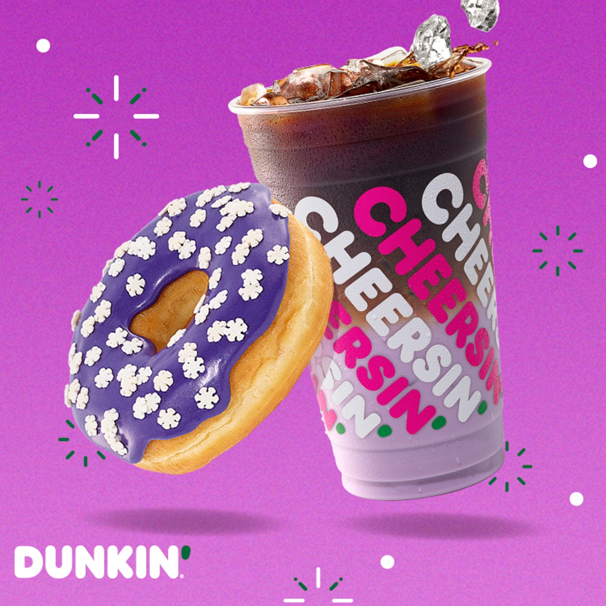 Dunkin's Sugarplum Macchiato is available starting Dec. 2 for a limited time.