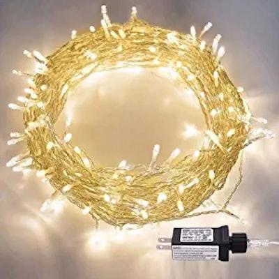 LED String Lights, 100LED 30V Plug in Fairy String Lights
