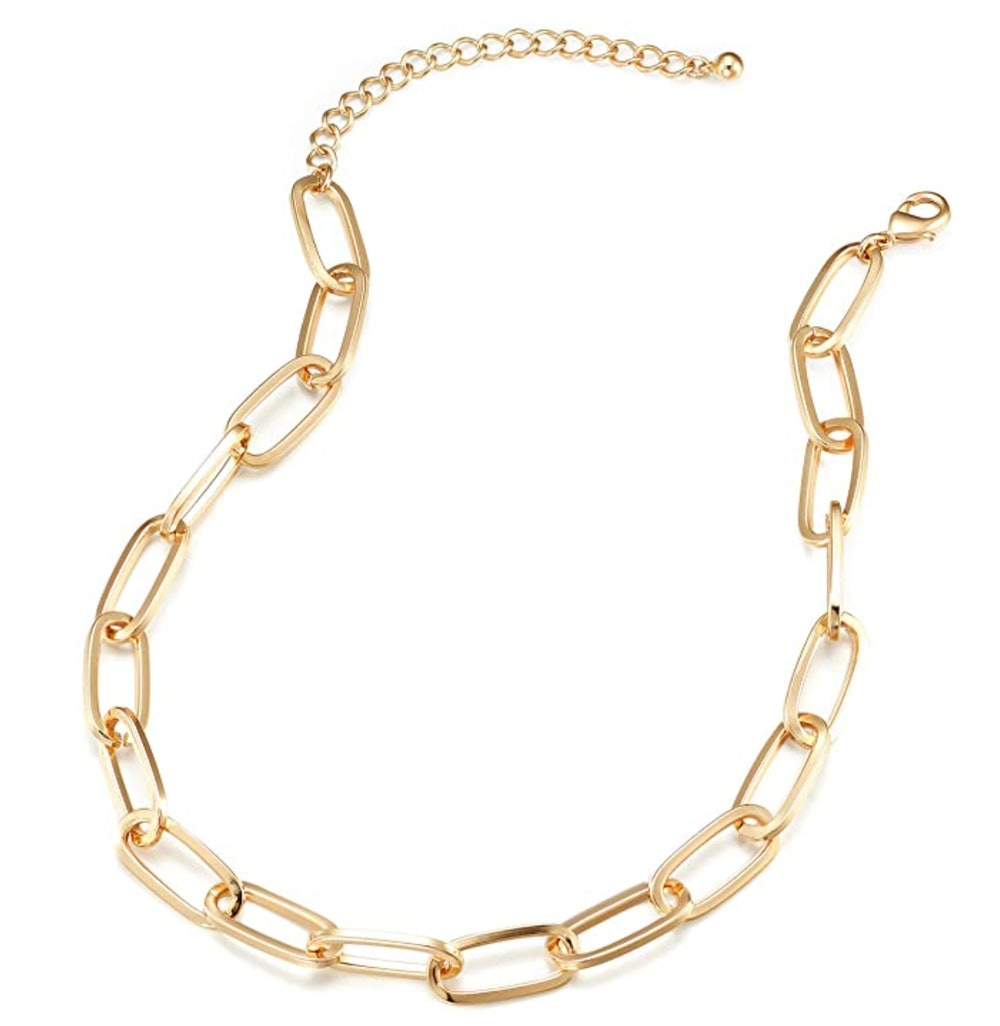 LANE WOODS Gold Chain Necklace and Bracelet