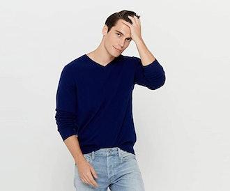 State Cashmere V-Neck Sweater