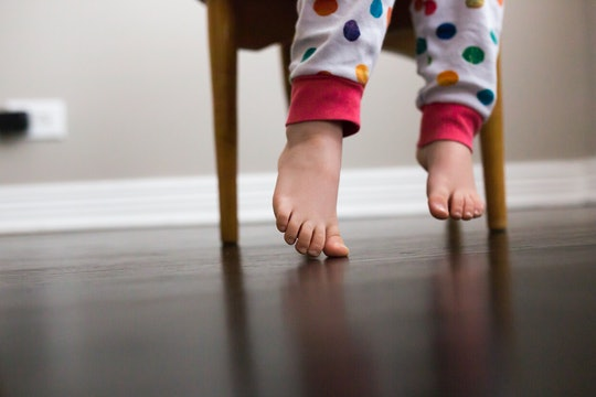 toddler feet, toddlers get yeast infections too