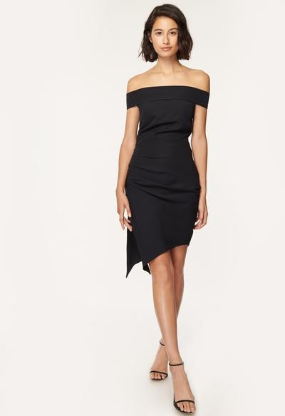 Milly Cady Ally Off-The-Shoulder Cocktail Dress