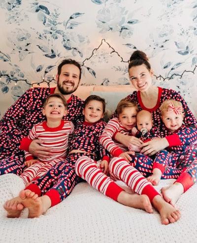 Candy Cane Matching Family Pajamas