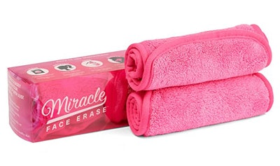 Miracle Face Eraser Microfiber Makeup Remover (2-Pack)