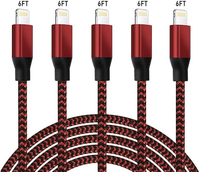 CVILUX iPhone USB Cables (5 Pack)