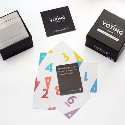 Player Ten The Voting Game: The Adult Party Game About Your Friends