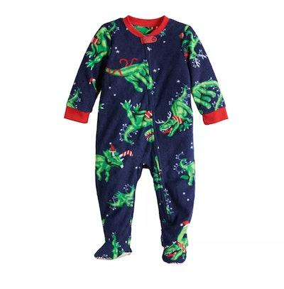 Baby Jammies For Your Families® Dino Family Microfleece Sleep & Play