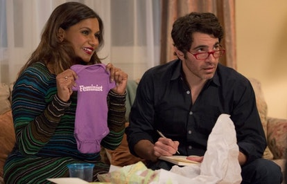 Mindy Kaling and Chris Messina in 'The Mindy Project'