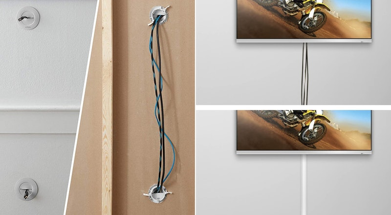 The Best Ways To Hide TV Cables