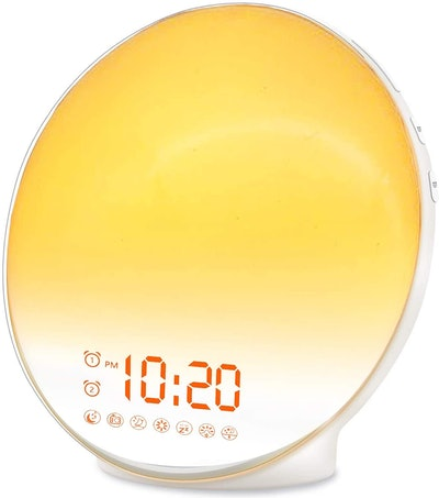 JALL Wake Up Sunrise Alarm Clock