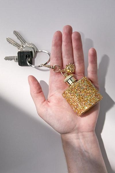 Celestial Mini Keychain Flask