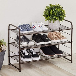 CAXXA Stackable and Expandable Shoe Rack