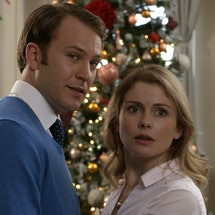 """A still from Netflix's """"A Christmas Prince 2: Royal Wedding."""" Here's how your brain reacts to holiday rom-coms."""