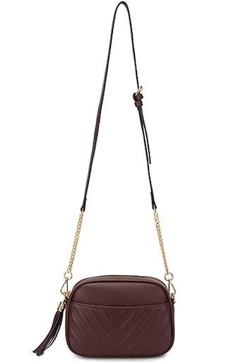 Lola Mae Quilted Crossbody Bag