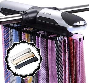 Primode Motorized Tie Rack Organizer