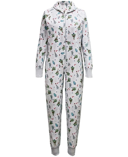 Matching Women's Festive Trees Onesie Created for Macy's