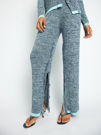 Deconstructed Knit Trousers