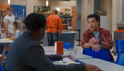 Mario Lopez as A.C. Slater in 'Saved by the Bell'