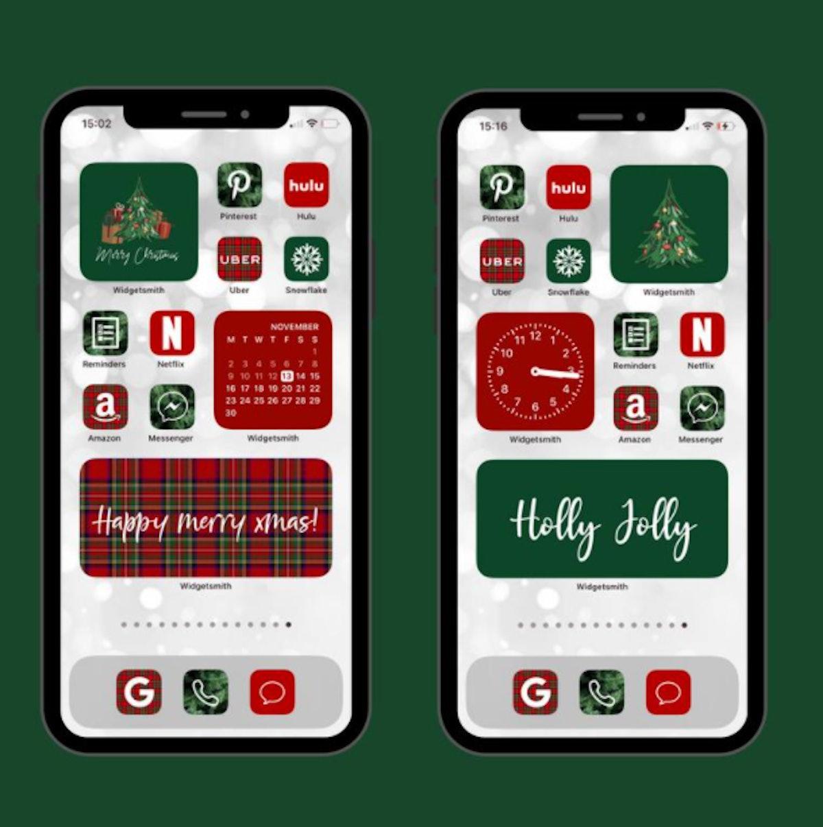 Christmas Eve iOS 14 Home Screen Design Pack