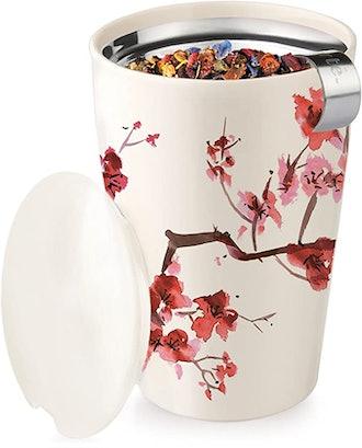 Tea Forte Ceramic Tea Infuser Cup