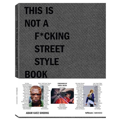 """""""This is Not A F*cking Street Style Book"""" Hardcover Book"""