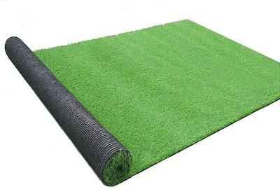 Goasis Lawn Artificial Turf Grass Lawn, 5 By 8 Feet