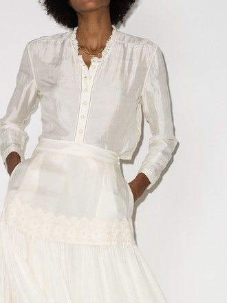 Edith Button-Up Blouse