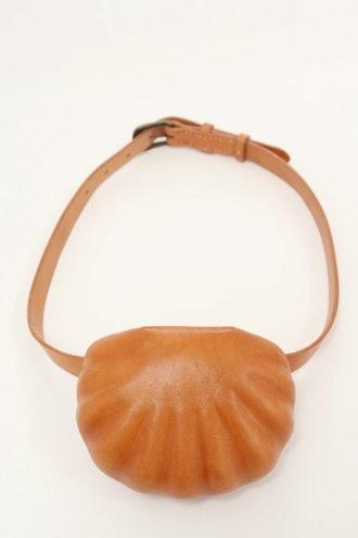Leather Shell Belt Bag