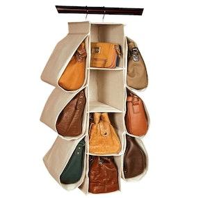 LONGTEAM Hanging Handbag Organizer