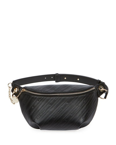 Bond Monogramed Leather Belt Bag