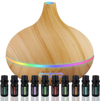 Pure Daily Aromatherapy Essential Oil Diffuser Set