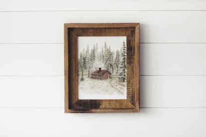 Cabin In The Woods Print