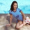 Bella Hadid for Nike Cortez.