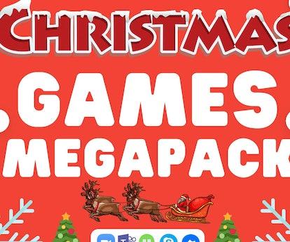Christmas Games MegaPack  — Gamesnightpros