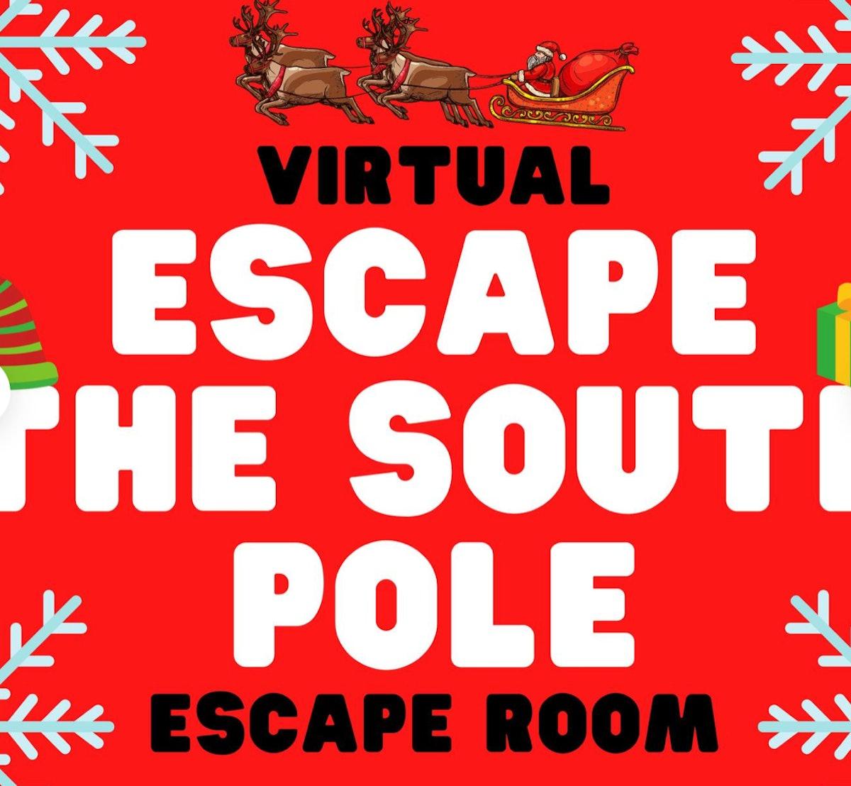 Virtual Christmas Escape Room - Escape The South Pole — Gamesnightpros