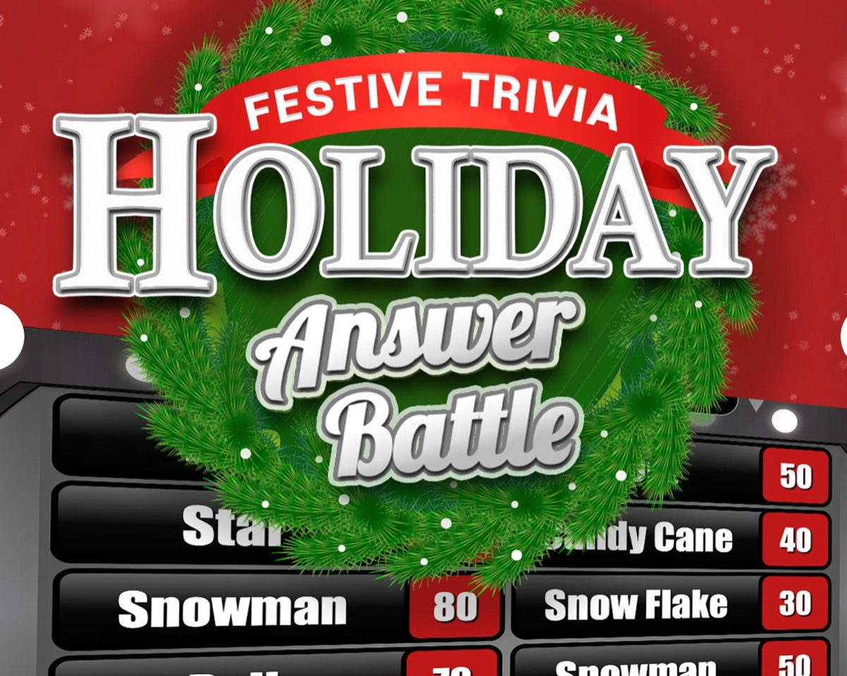 Holiday Answer Battle with Scoreboard — ThinkGames