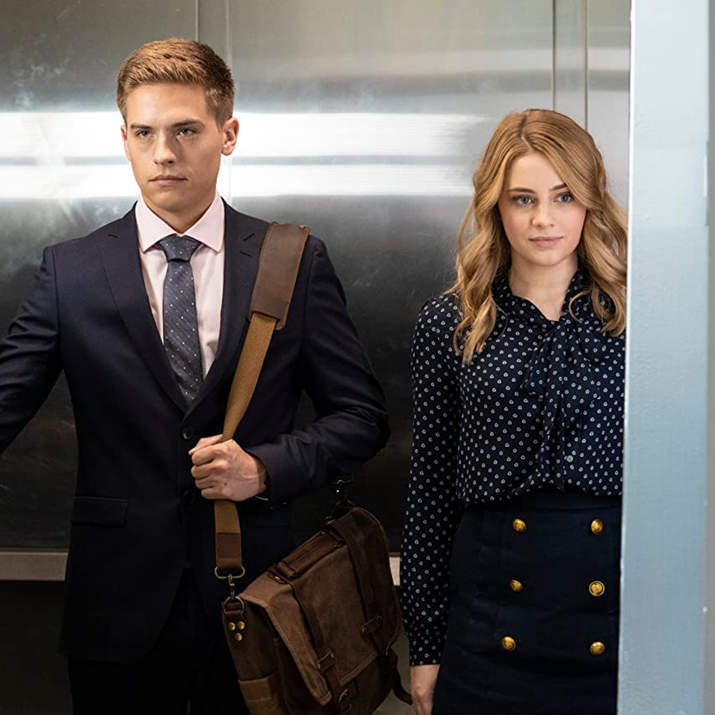 Dylan Sprouse and Josephine Langford in 'After We Collided.'