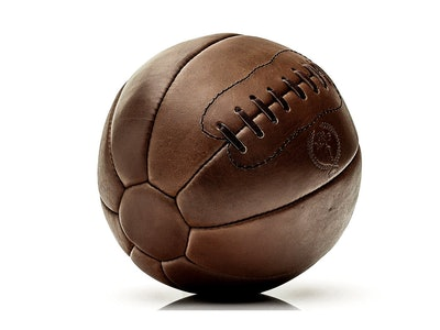 Retro Leather Medicine Ball
