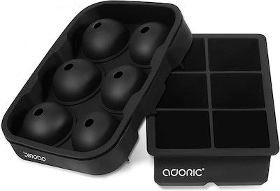 Adoric Silicone Ice Cube Trays (Set of 2)