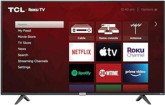 TCL 4K Smart LED TV, 50-Inch