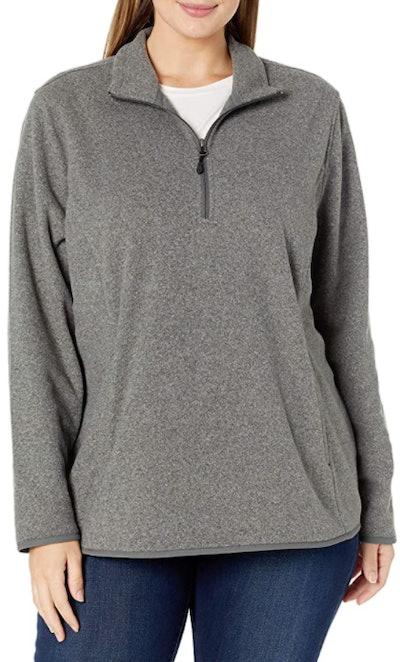 Amazon Essentials Quarter-Zip Polar Fleece Jacket