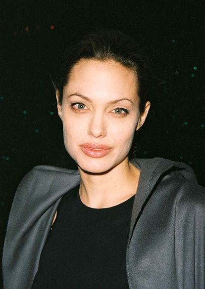 Angelina Jolie beauty look: foundation and concealer.