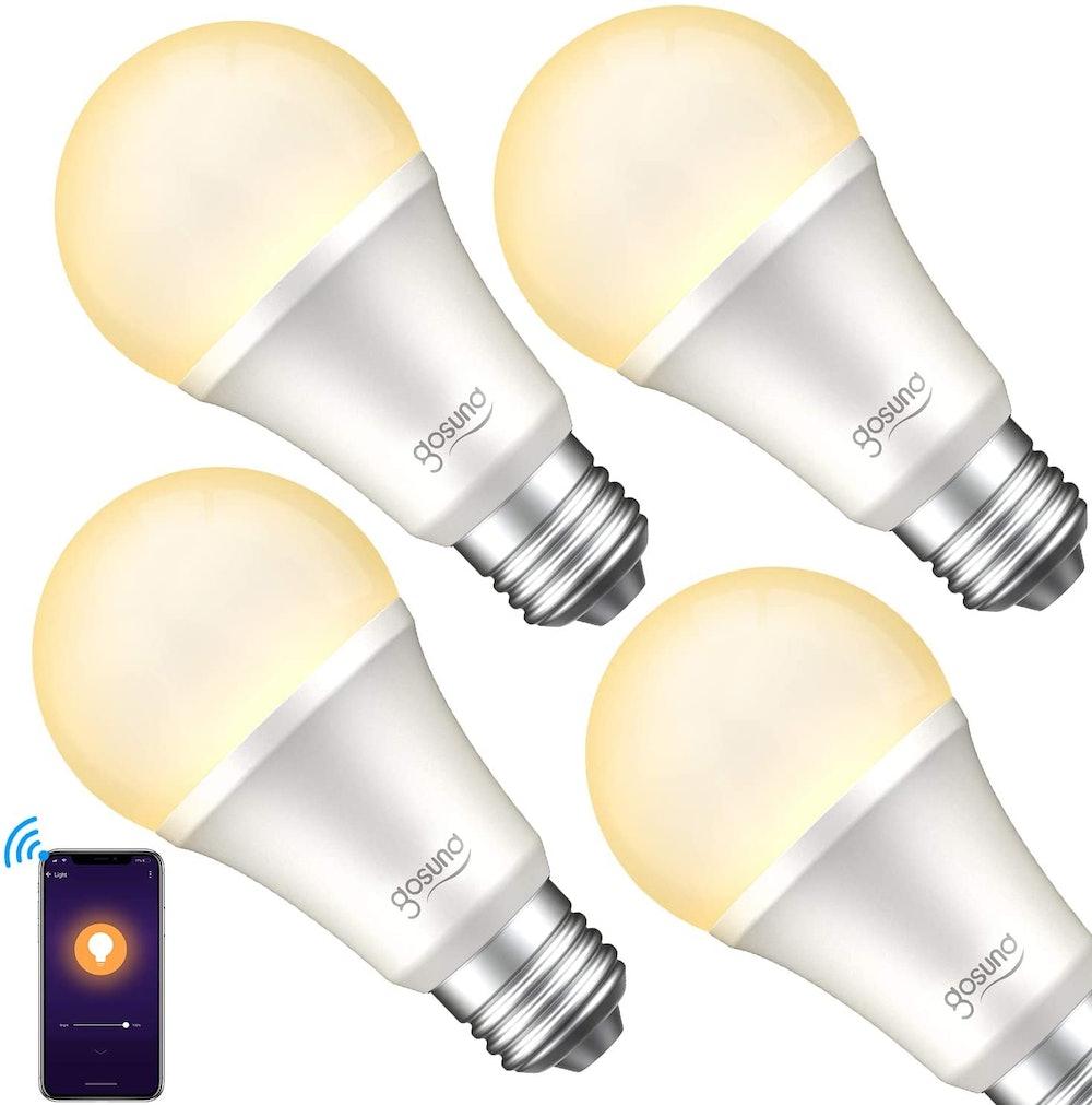 gosund Smart Light Bulb (4-Pack)
