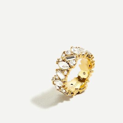 Mini-Stone Cluster Ring