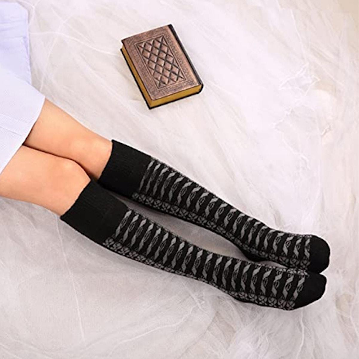 DoSmart Knee High Boot Socks (2-Pack)