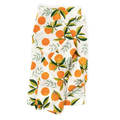 Cotton Muslin Clementine Swaddle