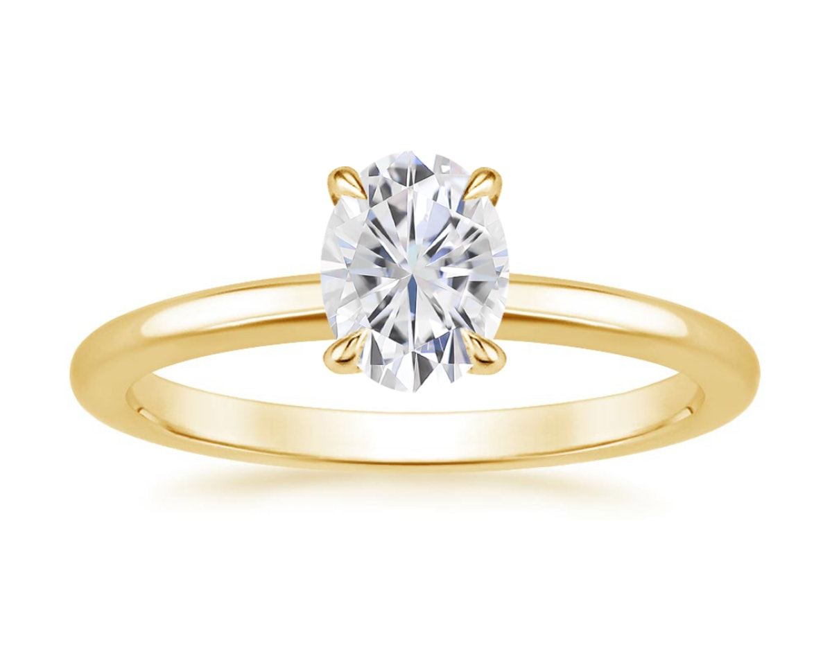 Moissanite Elodie Ring
