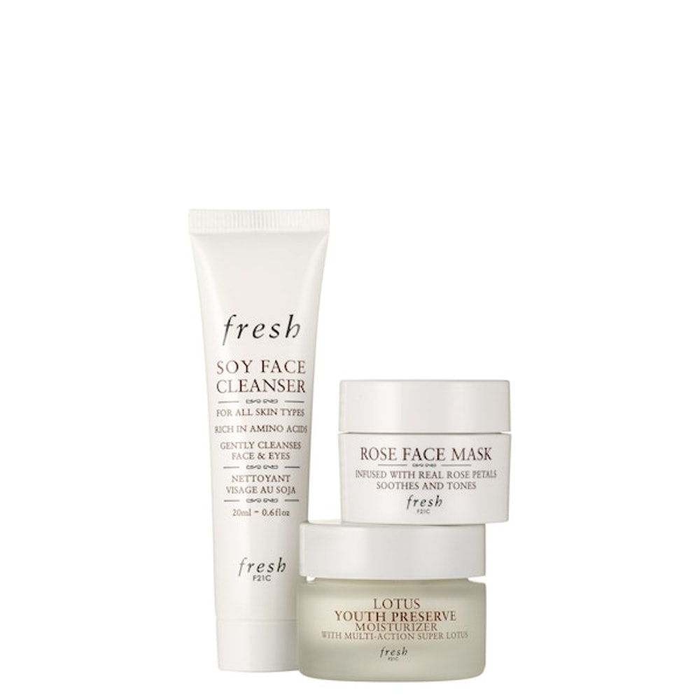 fresh Cleanse, Mask, Moisturize Set