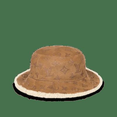 MONOGRAM SHEARLING HAT